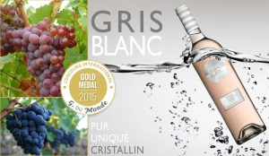 gris blanc medaille